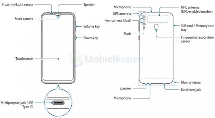 گلکسی M20 سامسونگ با صفحه نمایش 6.3 اینچی و سیستم تشخیص چهره نرم افزاری روانه بازار فروش می شود.