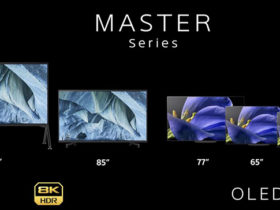 تلویزیون های غول پیکر سونی با کیفیت های 4K و 8K رونمایی شدند