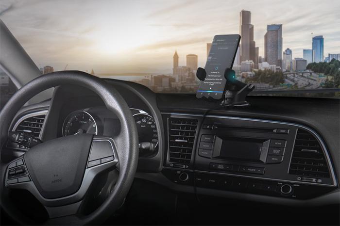 بهترین لوازم جانبی موبایل در سال 2019 ، کانکتور خودرو iOttie's Easy One Touch با دستیار صوتی داخلی الکسا