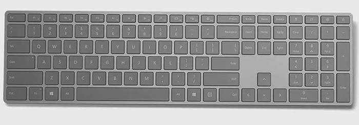 بهترین کیبوردهای وایرلس Microsoft Surface keyboard