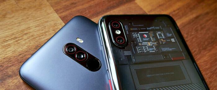 مقایسه گوشی های Mi 8 Pro و Pocophone F1 عملکرد دو گوشی