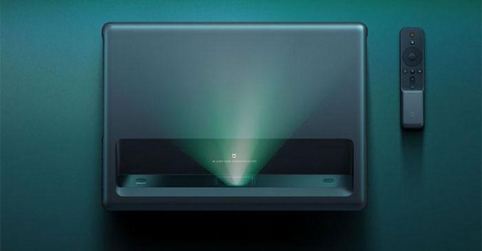 پروژکتور لیزری شیائومی چه صفحه نمایشی را ایجاد می کند؟