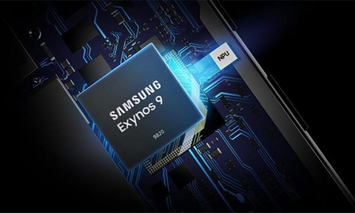 پردازنده اگزینوس 9820 از سری پردازنده های سه بخشی ساخته شده است