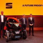 خودروی برقی شهری مجهز به اینترنت نسل پنجم در بارسلونا رویت شد