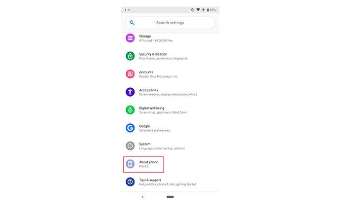 به روزرسانی جدید گوگل برای گوشی های پیکسل