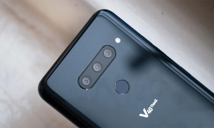 مشکلات دوربین گوشی LG V40 ThinQ