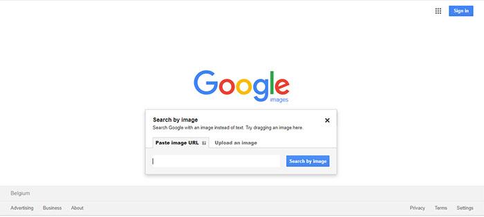 جستجو با عکس در گوگل ، جستجو با عکس در ویندوز