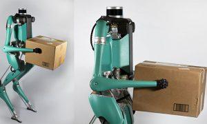 روبات Digit پیتزا را درب منزل تحویل شما می دهد!