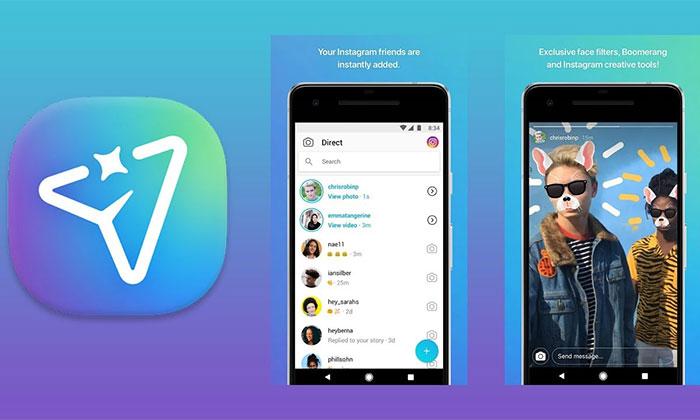 دانلود نرم افزار Direct from Instagram برای گوشی های موبایل