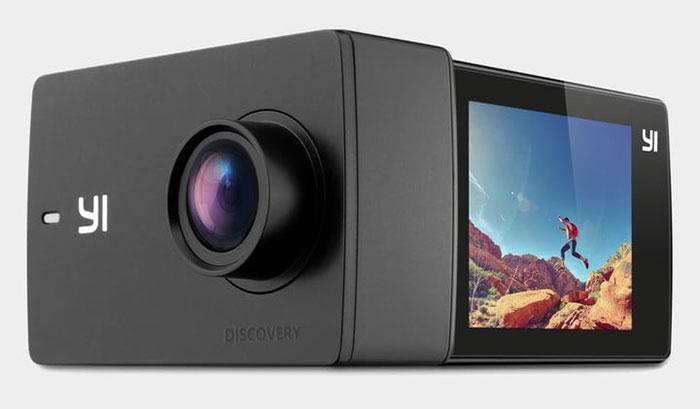 بهترین دوربین های ارزان قیمت ، دوربین YI DISCOVERY 4K ACTION CAMERA