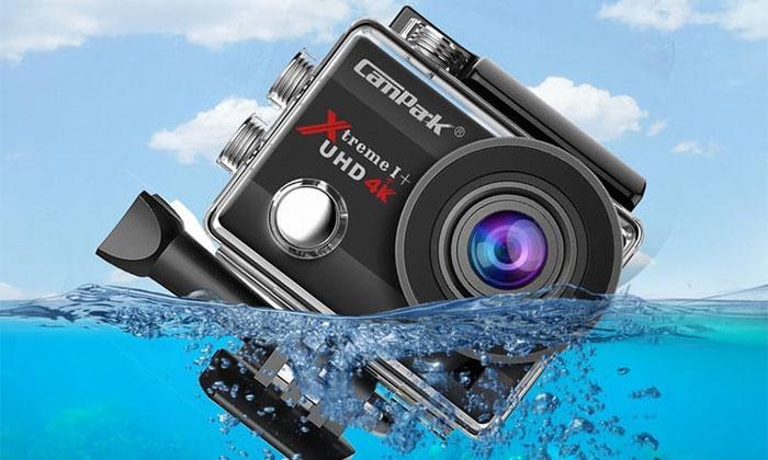 بهترین دوربین های ارزان قیمت، دوربین CAMPARK 4K ACTION CAMERA