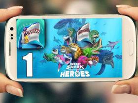 دانلود بازی Hungry Shark Heroes برای سیستم عامل اندروید