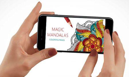 رنگ آمیزی خلاقانه با دانلود اپلیکیشن ماندالا برای کودکان و بزرگسالان