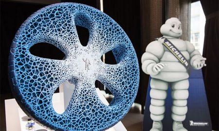 چرخ هوشمند سازگار با محیط زیست توسط پرینتر سه بعدی ساخته شد