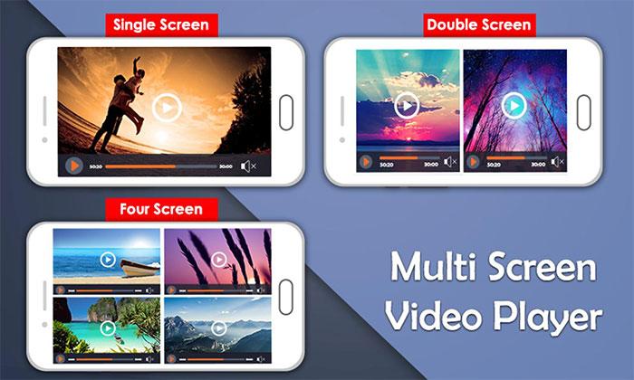 دانلود نرم افزار Multi Screen Video Player ؛ پلیر قدرتمند اندرویدی