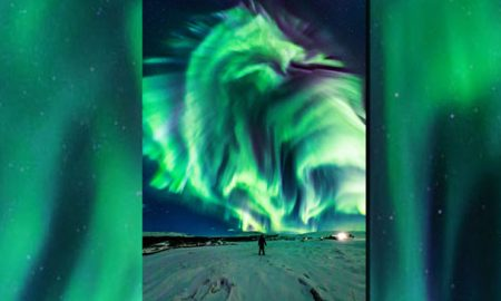 ناسا آسمان سبز را در ایسلند رصد کرد!