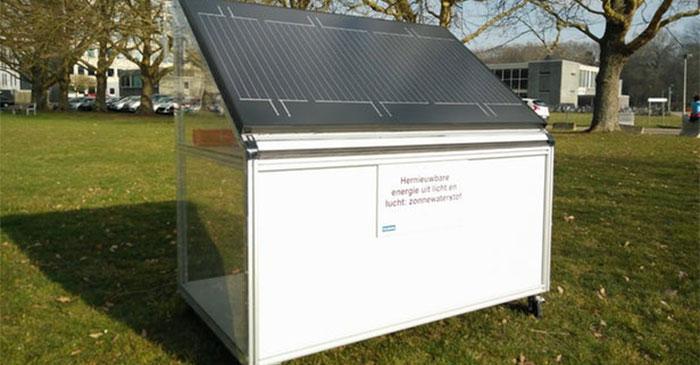 تامین برق و انرژی گرمایی از طریق هیدروژن پنل های خورشیدی