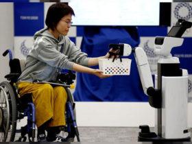 روبات های پاناسونیک و تویوتا یاریگر تماشاگران معلول و ناتوان در المپیک 2020 توکیو