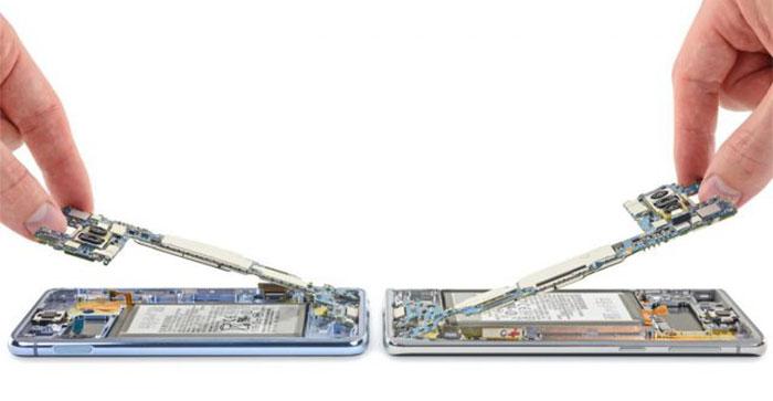 نمره تعمیرپذیری گوشی S10 در تست ها نشان از پیچیدگی تعمیر این گوشی دارد