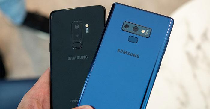باگ جدید گوشی های S9 و نوت 9 سامسونگ