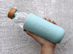 گجت بطری آب Soma Glass ، با دوام و مقاوم در تمرینات ورزشی شما