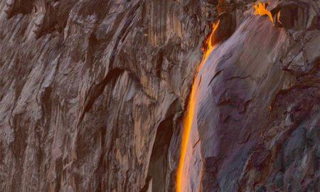 راز آبشار مذابی پارک ملی آمریکا چیست؟