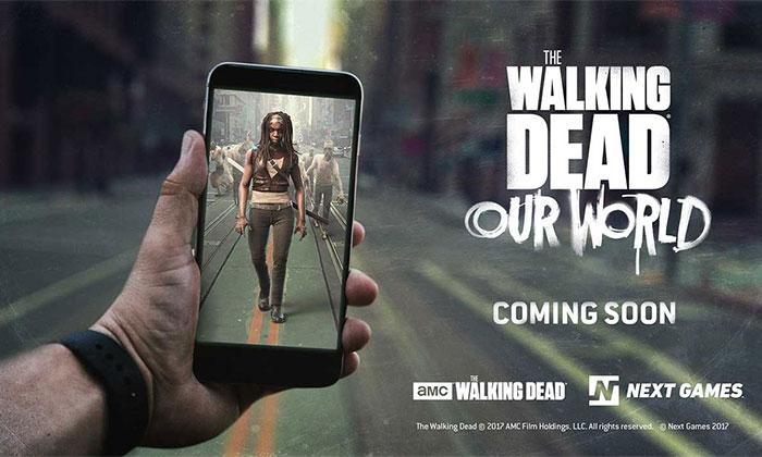 دانلود بازی موبایلی The Walking Dead: Our World برای گوشی های هوشمند