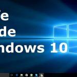چطور ویندوز 10 را در حالت Safe mode بوت کنم؟
