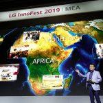 لوازمخانگی پریمیوم ال جی در نمایشگاه InnoFest 2019 خاورمیانه