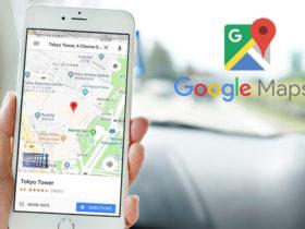 چطور در یک مسیر توسط نرم افزار گوگل مپ چندین مقصد ایجاد کنیم؟