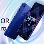 گوشی موبایل آنر 8A Pro با قیمت 218 دلار معرفی شد