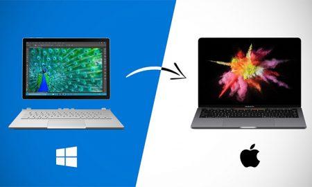 نحوه انتقال اطلاعات از ویندوز به مک به چه صورت است؟