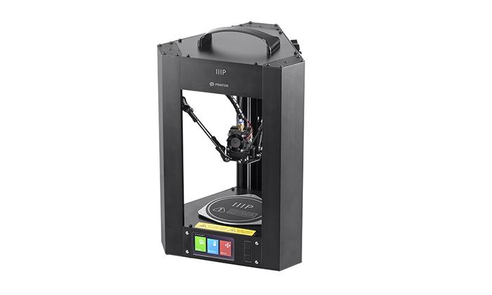 پرینتر سه بعدی Mini Delta شرکت Monoprice را می توان یکی از ارزان ترین پرینتر های سه بعدی دانست