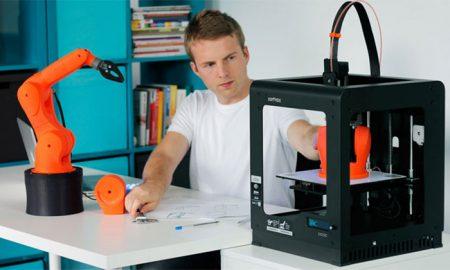 پرینتر سه بعدی Mini Delta ؛ ارزان و کاربردی