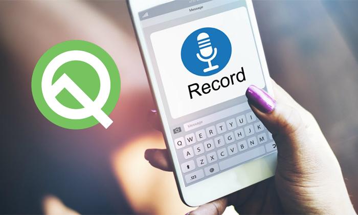 امکان ضبط فایل های Audio با کمک اندروید Q ممکن می شود