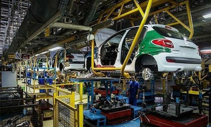 کاهش ۴۷ درصدی تولید خودرو در ایران