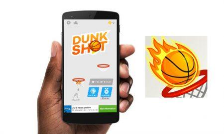 با دانلود بازی Dunk shot یک بسکتبالیست حرفه ای شوید!