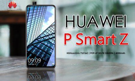 گوشی P smart Z هواوی معرفی شد؛ میان رده ای با هوش مصنوعی