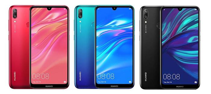 برخی ویژگی های گوشی موبایل Y7 Prime نسخه 2019