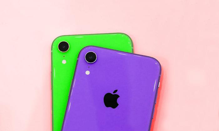 سبز و بنفش هم به مجموعه رنگ های آیفون 2019 اضافه شدند