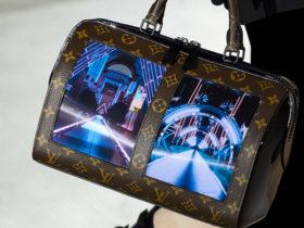 با تولید کیف هایی با نمایشگر منعطف ؛ لویی ویتون مد و تکنولوژی را در هم آمیخت