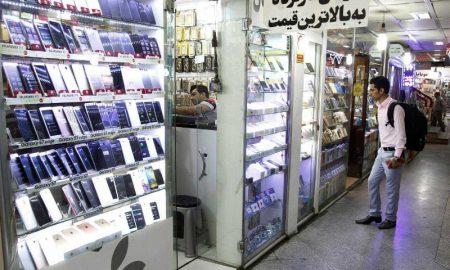 کاهش قیمت تلفن همراه در بازار ایران
