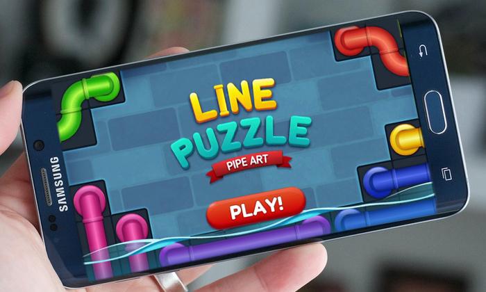 دانلود بازی فکری مسیرهای لوله ای Pipe Lines Puzzle برای گوشی های اندروید