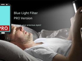 با دانلود برنامه sFilter blue light Filter از چشمان خود در مقابل نور آبی محافظت کنید