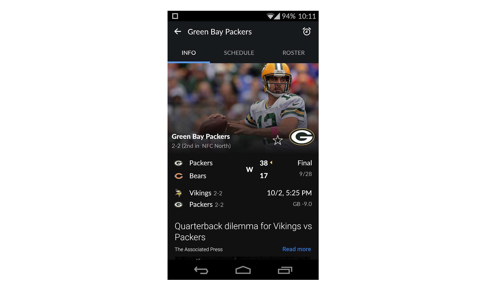 بهترین نرم افزارهای Yahoo Sports