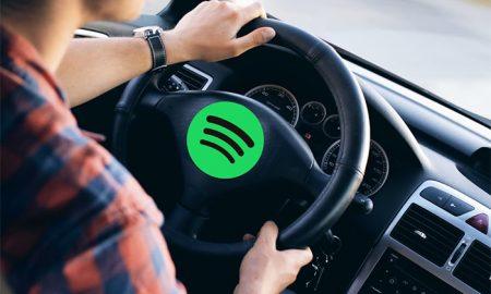 با معرفی دستگاه هوشمند اسپاتیفای ؛ فرمان صوتی در خودرو موسیقی پخش می کند
