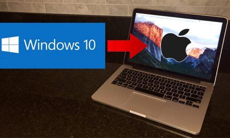 چطور ویندوز 10 را روی مک بوک نصب کنیم؟