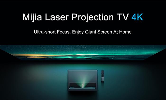 بهترینویدئو پروژکتور Mijia Laser Projector TV 4K شیائومی