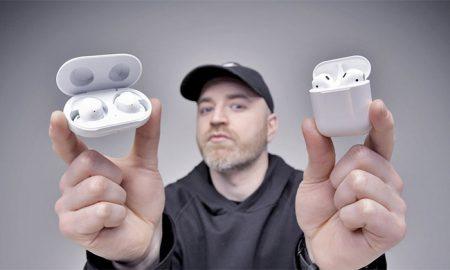 مقایسه AirPods 2 اپل با سامسونگ Galaxy Buds ؛ کدام را بخریم؟
