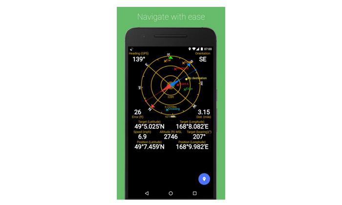 نرم افزار های برطرف کردن مشکلات گوشی های اندرویدی،نرم افزار GPS Status & Toolbox